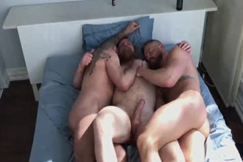 Ginger Bear's raw Threeway