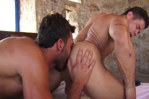 Muscled men,pound