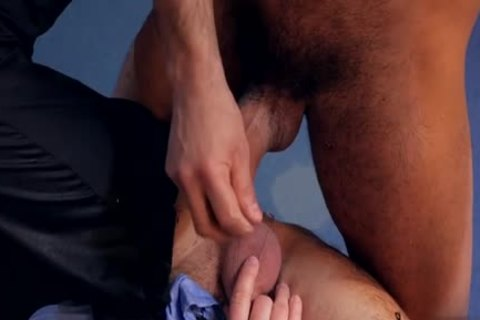 Muscle homo a bit of booty With cumshot