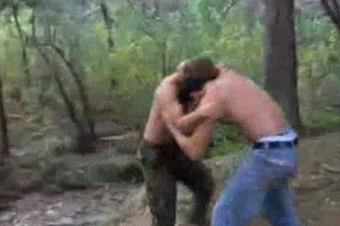 Combat In The Woods
