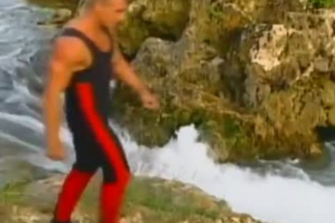 Blazing Waters wild Outdoor Adventure With large dick lustful Hunks