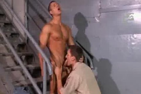 Jail Stair Action