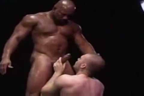 powerful Interracial homosexual studs juicy Sex