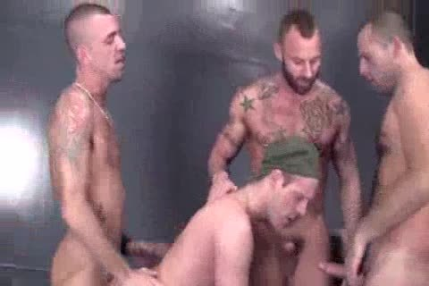 Military Bb group-sex And Creampie