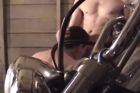 pretty men With Piercing plowing & Cumming