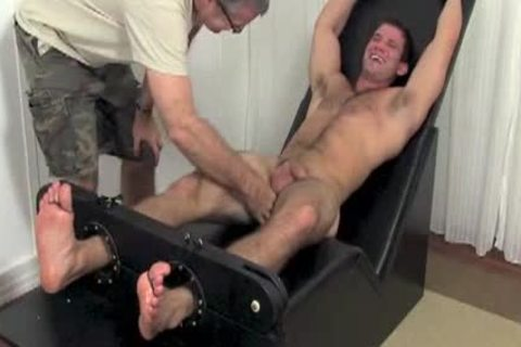 Bryce Jerked & Tickled