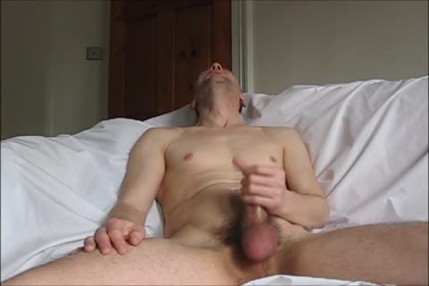 Howieboy1 Has A Leisurely Jacks Off On The daybed And sucks A throbbing Load
