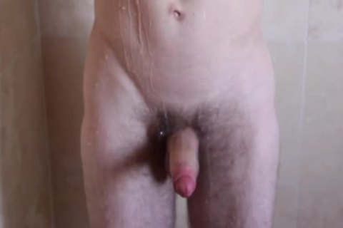 monstrous & gigantic Shower acquires Steamy For gigantic Dicked men