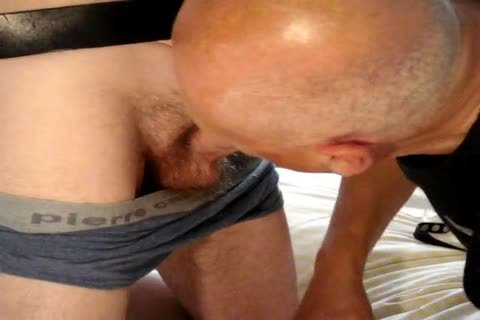 Delivery boy Immobilized And Made To cum In condom.