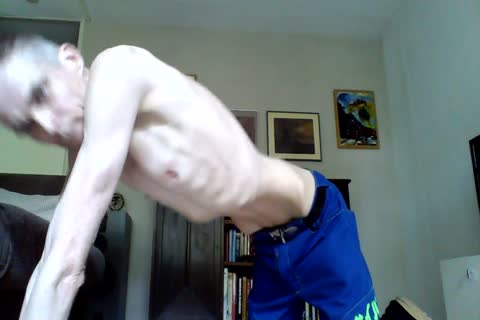 Just A stroking Vid With A Cumm shot, For All you Skinnylovers.