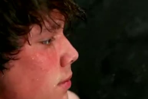 Justin Lebeau Being charming In The Shower