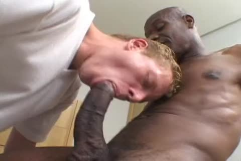 darksome homosexual lad With big 10-Pounder ass Rams