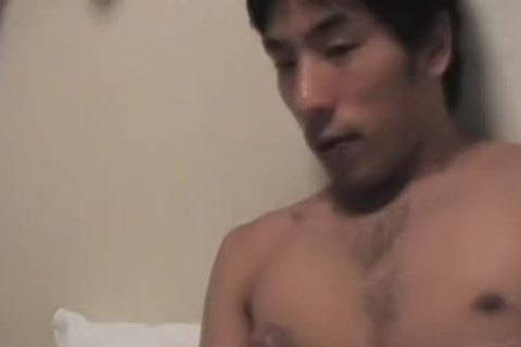 oriental men Jerk And goo