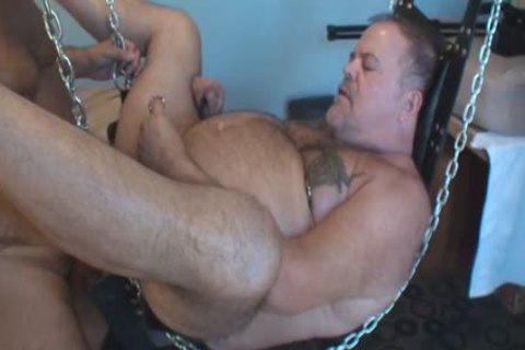 greater amount Play Party Footage, Pt 2. A kinky Piggy Sub Bear (Verytwisted On Xtube) Sucks My dick (BeartoyLA) And Peterprinciple (on Bbrt) Too.  Then Verytwisted Hops In The Sling To acquire Tag Team drilled By Us one as well as the other And His