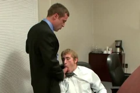 delicious homo gets wazoo Nailed In The Office