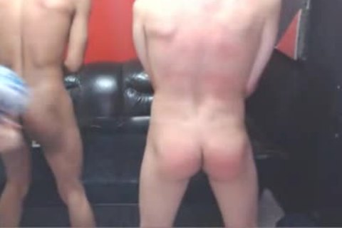Harsh Whipping For two On Web web camera
