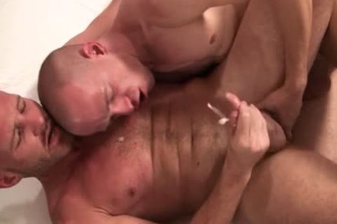 Two gay Bald guys enjoy Sodomy together