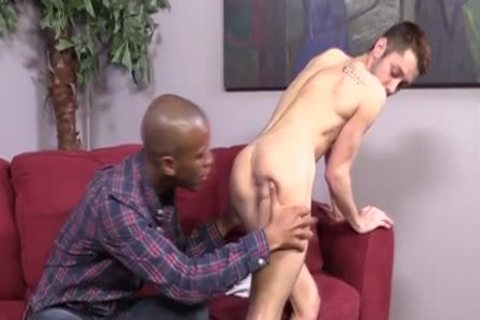 lusty Interracial rimming & fucking