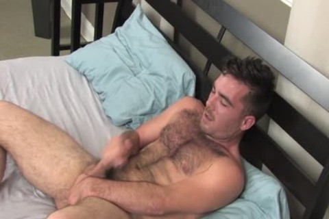 Colton Masturbates Alone In bed