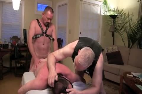 This lovely Masochist Wanted To Celebrate His Birthday With Me And Deeperdoug, And We Were greater amount Than cheerful To Oblige.  The First Two Parts Are wild Much All bdsm, The Third Is A Mix Or SM And Sex And The Fourth Is All About Sex!