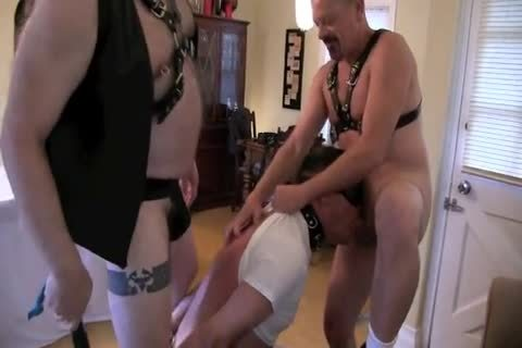 This pleasant Masochist Wanted To Celebrate His Birthday With Me And Deeperdoug, And We Were greater quantity Than happy To Oblige.  The First Two Parts Are marvelous Much All bdsm, The Third Is A Mix Or SM And Sex And The Fourth Is All About Sex!