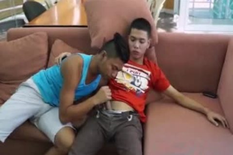 Pinoy giant penis Arjo And Josh,, have a joy Pinoy M2M poke, suck, And arse rimming