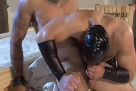 stunning pounding With The Leather man