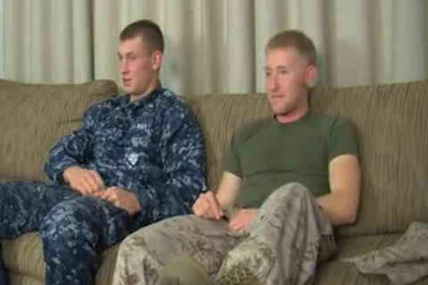 AAH - Petty Officer Aiden's First homo oral stimulation