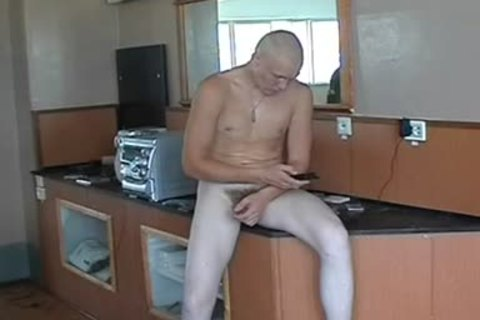 nude Russian Soldier In A Gym