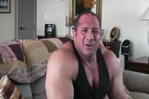 gay Powerlifter Tony Maxim Interview (no Sex)