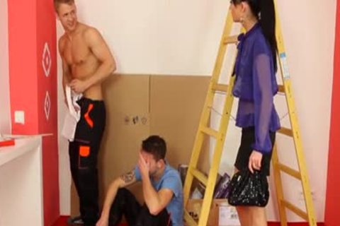 bisexual Hunk sperm Faced