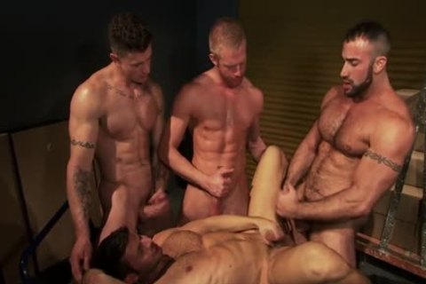 Hung Hunks sperm Jerking