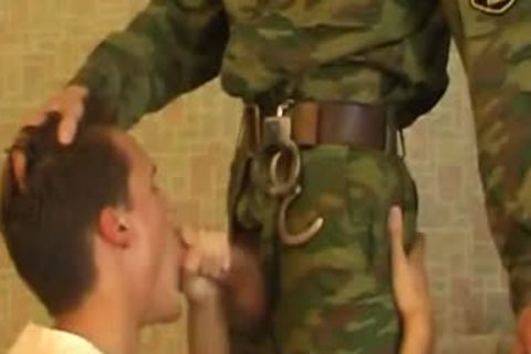 dude Sucks 10-Pounder Of juvenile naughty Military lad