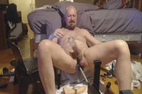 Longer clip. Pumping My penis And Going From James Deen To Jeff Stryker Then The Cyborg 8.0.