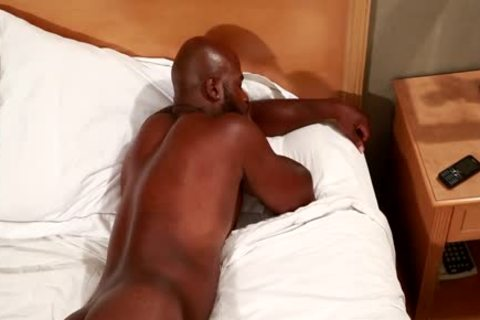 Next Door black Darian And jerking off His fat dark cock