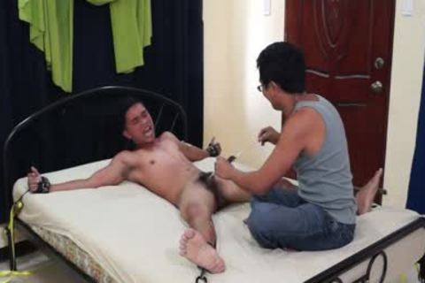 kinky Diego tied And Tickled