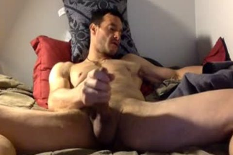 str8 Daddy Watching Porn & Jerk On sofa