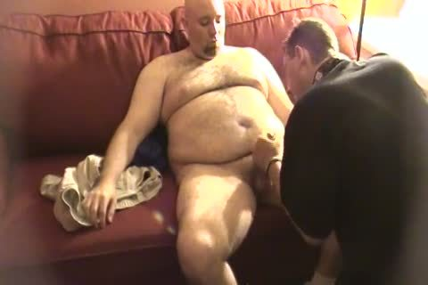 My Daddy Met This Furry Trucker Daddy Who Wanted To Work Me Over. No cum shot But Still tasty sleazy.