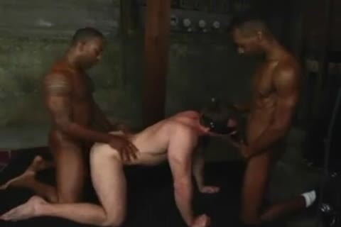 Joey Powerfucked By Two darksome guys