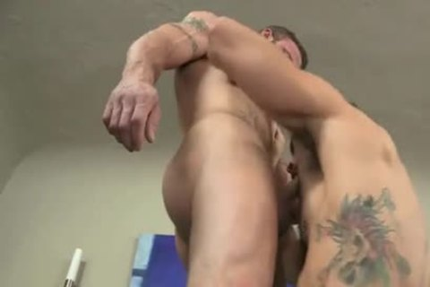 Muscle studs raw