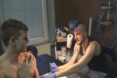 kinky Sex For money In A Tattoo Studio