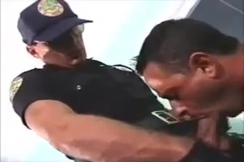 pounded By Police Officer