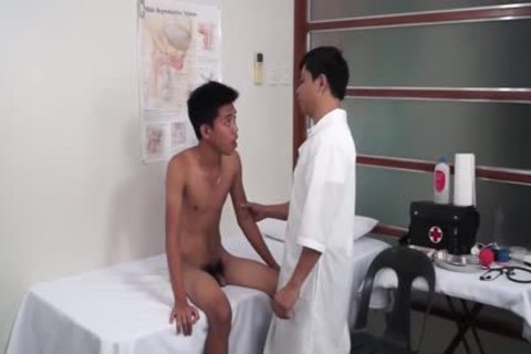 nasty homosexual oriental butthole Medical Exam