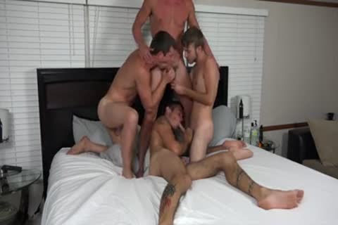 A pair AND TWO friends plowing ON web camera