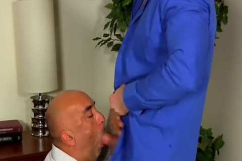 Shay Michaels bonks His Annoying Boss Brian In His arsehole