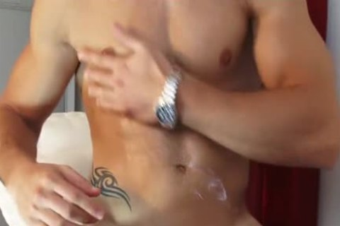 My Gym Trainer Made A Orn clip scene: Watch His monstrous jock receives Wanked!