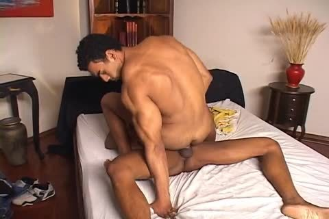 Alan darksome And Poax Lenehan enjoy Railing anal