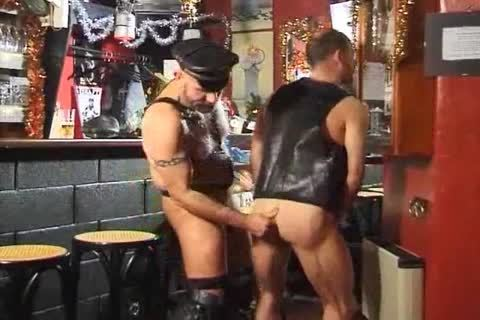 Fetish studs shlong engulfing