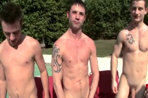 Boring twink Pool Party