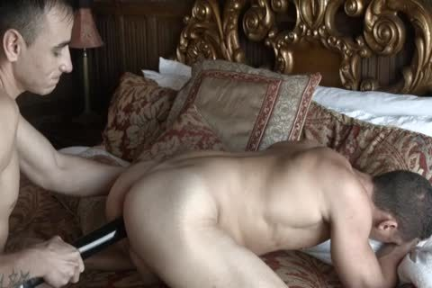 Russian homosexual bonks ally By fake penis
